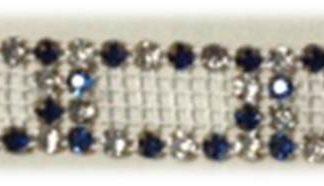 4 row alt NAVY Cutout rhinestone banding-0