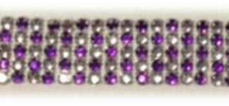 5 row alt PURPLE rhinestone banding-0