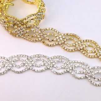 Double Oval Chain GOLD OR SILVER-0