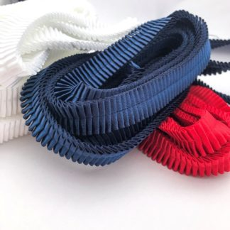 Pleated Ribbons