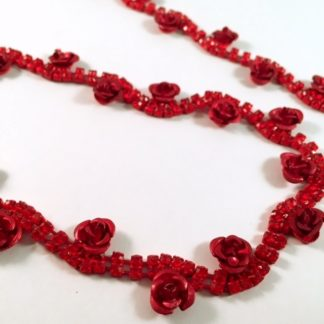 Deep Red Rose Chain-0