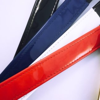Patent Leather browbands