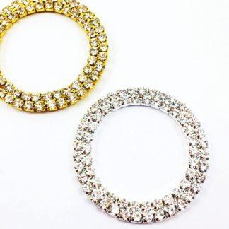 DIY browband crystal ring